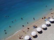 Durée sur la plage Photos libres de droits