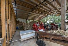Duren Cane Mill Arkivfoton