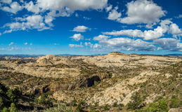 Durffey Mesa视图 库存图片