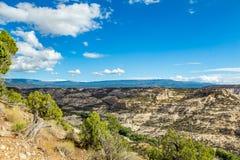 Durffey Mesa View Royaltyfri Foto