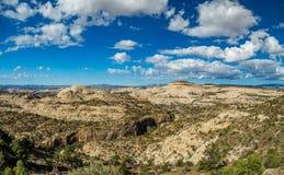 Durffey Mesa View Fotografering för Bildbyråer