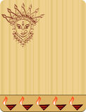 Durga Stockbild