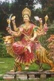 Durga Devi statua, Hosanadu, Moodbidri Obraz Royalty Free