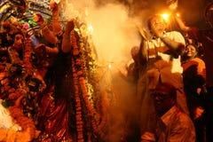 durga festiwalu puja fotografia royalty free