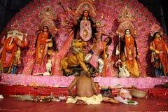 durga festiwalu puja obraz royalty free