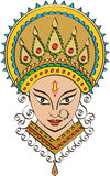 Durga Goddess of Power Stock Photos