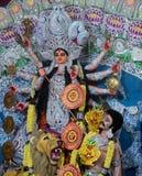 Durga hindú de la diosa Fotos de archivo