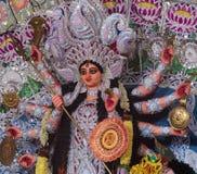 Durga hindú de la diosa Imagen de archivo libre de regalías