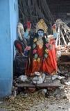 Durga hindú de la diosa Fotos de archivo libres de regalías