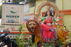 Durga Hindu da deusa Imagens de Stock Royalty Free