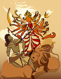 Durga Hindu goddess Royalty Free Stock Photography