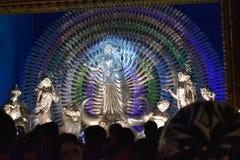 Durga Icon Royalty-vrije Stock Afbeeldingen
