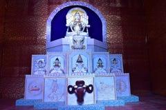 Durga Icon Stock Afbeeldingen