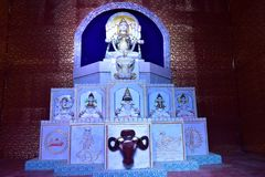 Durga Icon Imagens de Stock