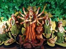 Durga Idol Photos libres de droits