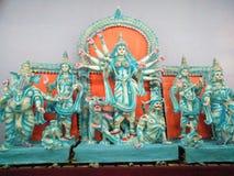 Durga Idol Immagini Stock Libere da Diritti
