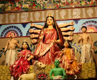 Durga Idol lizenzfreie stockfotografie