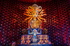 Durga idol Obrazy Royalty Free