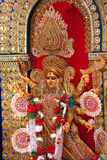 Durga Idol as worshipped by Bengali community in India Stock Photography