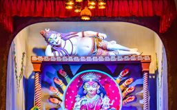 Maa Durga Idol Royalty Free Stock Photography