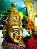 Durga idol stock images