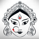 Durga illustration Stock Photography