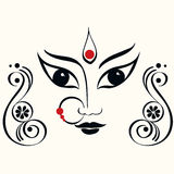 Durga illustration Royalty Free Stock Photography