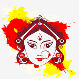 Durga illustration Stock Photos