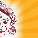 Durga illustration Royalty Free Stock Photos