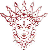 Durga Royalty Free Stock Photography