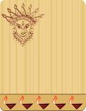 Durga. Indian Goddess Vector Art royalty free illustration