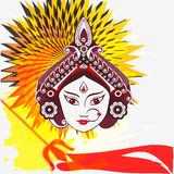 Durga painting Stock Image