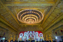Durga Pandaal Stock Photography