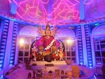 Durga Pratima od Północnego Kolkata fotografia stock