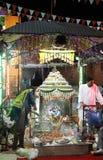 Durga Puja är den hinduiska festivalen i South Asia Fotografering för Bildbyråer