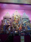 Durga puja 2017 Obrazy Stock