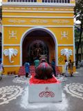 Durga puja 2017 zdjęcia royalty free