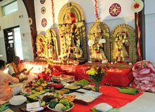 Durga Puja Стоковое фото RF