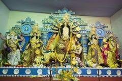Durga Puja Arkivbild