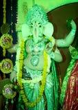 Durga Puja Arkivfoto