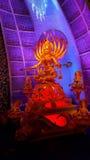 Durga Puja fotografia stock libera da diritti