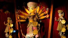 Durga Puja bengalczyków festiwal zdjęcia royalty free