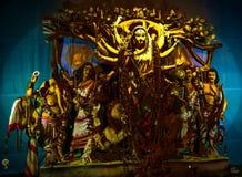 Durga puja Durga pratima made of clay royalty free stock images