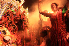 Durga puja festival Stock Photos