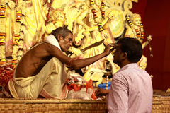 Durga puja festival Stock Image