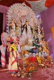 Durga puja festival celebration Stock Image