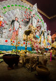 Durga Puja festival celebration in Kolkata, India Royalty Free Stock Photography