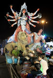 Durga Puja Festival in Kolkata, India. Royalty Free Stock Photography