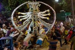 Durga Puja Festival in Kolkata, India. Stock Photo