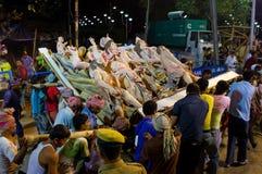 Durga Puja Festival in Kolkata, India. Stock Images